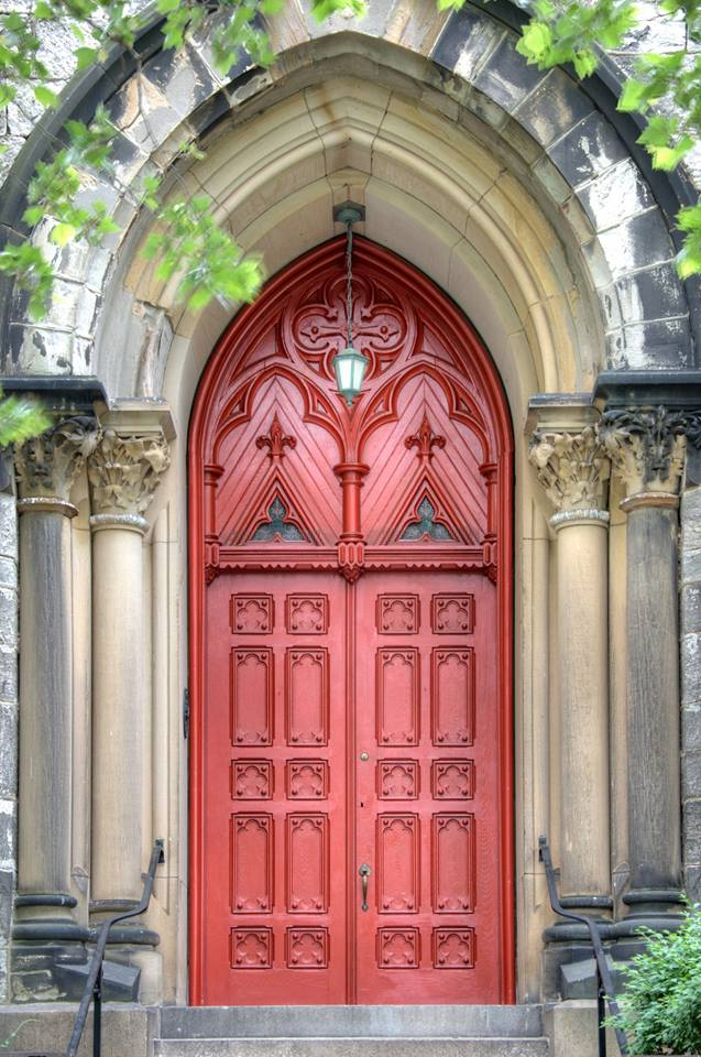 St. Mary's front door